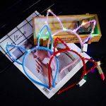 COSOON Lot de 6LED Clignotant Bandeaux, oreilles de chat Bandeau Headband Couronne Mouse oreilles Serre-tête oreilles de lapin Bandeau pour festival fête de mariage, Coiffe avec LED Décor T026 de la marque COSOON image 3 produit