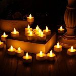 Covermason Bougies Flameless 24pc LED Tea Light Candles Realistic Battery-Powered de la marque Covermason image 1 produit