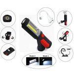 D. ROC Lampe de Travail occultant d'urgence lumière LED USB Rechargeable d'éclairage de Voiture Camion réparation Support réglable à Suspendre Crochet Base magnétique de la marque D.RoC image 3 produit