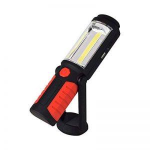 D. ROC Lampe de Travail occultant d'urgence lumière LED USB Rechargeable d'éclairage de Voiture Camion réparation Support réglable à Suspendre Crochet Base magnétique de la marque D.RoC image 0 produit