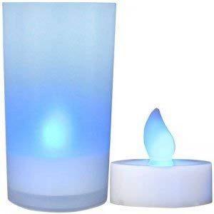 Daffodil 6 bougies LED LEC008 -Bougeoirs électriques - PilesLR41incluses- Cadeau de Noëlidéal - Bleu de la marque Daffodil image 0 produit
