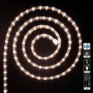 Déco Noël - Guirlande Tube lumineux 18 mètres Ampoules led Blanc chaud et 8 jeux de lumière de la marque FEERIC LIGHTS & CHRISTMAS image 0 produit