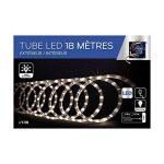 Déco Noël - Guirlande Tube lumineux 18 mètres Ampoules led Blanc chaud et 8 jeux de lumière de la marque FEERIC LIGHTS & CHRISTMAS image 1 produit