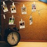 Décorations de la Saint Valentin - 50 photo clip lumières de guirlandes, led decoration chambre décoratives pinces pour accrocher des images, des notes et des photos de la marque The Twiddlers image 4 produit