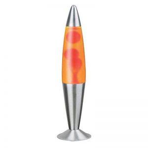 Dècorative Retro Lampe Lava Lumière - Orange / Orange 4107n de la marque Licht-Erlebnisse image 0 produit
