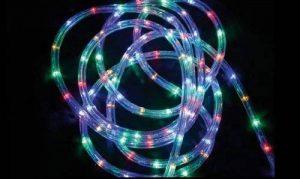 DECO NOEL - Guirlande Tube lumineux 6 mètres Ampoules LED multicolores et 8 jeux de lumière de la marque FEERIE LIGHTS image 0 produit