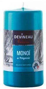 Devineau 1608733 Bougie Grand Modèle (+/- 60h) Monoï de Polynésie - Turquoise de la marque DEVINEAU image 0 produit