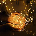 Diolumia - Guirlande Lumineuse LED à Piles avec Télécommande - 10M 100 Micro LED - Blanc chaud - Etanche IP 65 - Guirlande décorative pour Noël, Maison, Fêtes, Mariages, Anniversaire, Nouvel An de la marque Diolumia image 2 produit