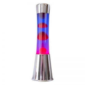 DonRegaloWeb–Lampe de lave rouge et violet avec corps argenté de la marque DonRegaloWeb image 0 produit