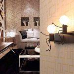 E27 Lampe Murale Applique Murale Couloir de la lampe Miroir lampe luminaire Couloir de la lampe pour Couloir Toilettes la chambre à coucher Loft Chambre à coucher Office Home Décoration lumineuse Transparent de la marque Lit. image 1 produit