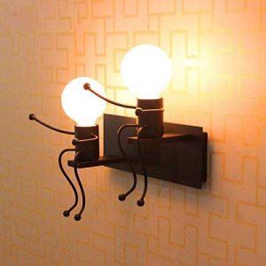 E27 Lampe Murale Applique Murale Couloir de la lampe Miroir lampe luminaire Couloir de la lampe pour Couloir Toilettes la chambre à coucher Loft Chambre à coucher Office Home Décoration lumineuse Transparent de la marque Lit. image 0 produit