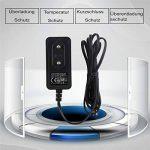 EFISH CCTV 12V 1A Chargeur Adaptateur Alimentation,100-240V AC à 12V DC 1Amp (1000mA) Cordon Chargeur,Pour Caméra Dôme/Bullet de Sécurité et Beaucoup d'autres Composants électroniques Courants de la marque EFISH image 4 produit