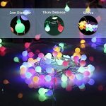 EJIKER Guirlandes Lumineuses LED 50LEDs 5m pour décorations d'intérieur en Plein Air Jardin Chez Soi Patry (Coloré) de la marque EJIKER image 1 produit