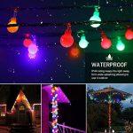 EJIKER Guirlandes Lumineuses LED 50LEDs 5m pour décorations d'intérieur en Plein Air Jardin Chez Soi Patry (Coloré) de la marque EJIKER image 2 produit