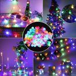 EJIKER Guirlandes Lumineuses LED 50LEDs 5m pour décorations d'intérieur en Plein Air Jardin Chez Soi Patry (Coloré) de la marque EJIKER image 3 produit