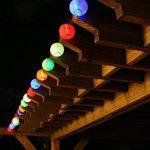 Eleganbello Lanterne Multicolores Guirlande Lumineuse 20 LED 4 Mètres Batterie Décoration Intérieure et Extérieure pour jardin, terrasse, cour, maison, arbre de Noël, fête party etc de la marque Eleganbello image 1 produit