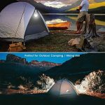 EleLight 2PCS 720LM E27 LED à Energie Solaire, Lampe Rechargeable Portative de 12W pour l'intérieur et en plein air Randonnée Lecture Tente de Camping Pêche de la marque EleLight image 4 produit