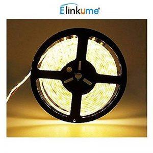 Elinkume 10M Bande Flexible 60 SMD 5050 Bande Flexible Blanc Chaud Bandes LED Flexibles DC12V LED(SMD) Strip de la marque ELINKUME image 0 produit