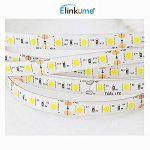 Elinkume 10M Bande Flexible 60 SMD 5050 Bande Flexible Blanc Chaud Bandes LED Flexibles DC12V LED(SMD) Strip de la marque ELINKUME image 3 produit
