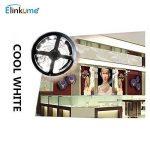 Elinkume 10M Bande Flexible 60 SMD 5050 Bande Flexible Blanc Froid Bandes LED Flexibles DC12V LED(SMD) Strip de la marque ELINKUME image 1 produit