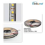 Elinkume 10M Bande Flexible 60 SMD 5050 Bande Flexible Blanc Froid Bandes LED Flexibles DC12V LED(SMD) Strip de la marque ELINKUME image 4 produit