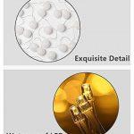 ELINKUME Guirlandes Lumineuses, 20LED Blanc Boules de Coton 8 Modes de Lumière de la Chaîne 4,0M Lampe Féerique Belle Décoration Intérieure éclairage (interface USB, éclairage blanc chaud) de la marque ELINKUME image 4 produit