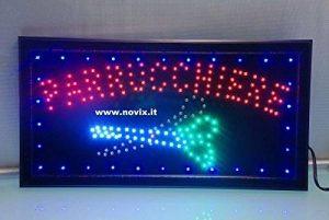 Enseigne à LED coiffeur Dim: 25x 48cm. de la marque Decosam image 0 produit