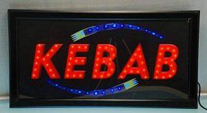 ENSEIGNE LUMINEUSE A LED KEBAB de la marque DECOS image 0 produit