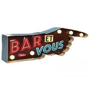 """Enseigne lumineuse """"Bar et vous"""" de la marque Rétro image 0 produit"""