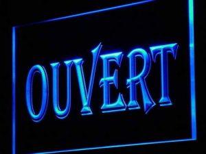 Enseigne Lumineuse j162-b OUVERT OPEN Shop Neon de la marque AdvPro Sign image 0 produit