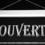 Enseigne Lumineuse j162-b OUVERT OPEN Shop Neon de la marque AdvPro Sign image 1 produit