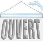 Enseigne Lumineuse j180-b OUVERT Open Bar Beer N?on de la marque AdvPro Sign image 1 produit