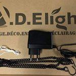 Enseigne lumineuse à LED Kebab 40x40x2.5cm de la marque ADE LIGHT image 2 produit