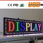 Enseigne lumineuse à LED RGB colorée WiFi inscription personnalisée coulissant tableau magasin USB 100x 20cm de la marque ® IDOR STORE ® image 1 produit