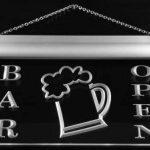 Enseigne Lumineuse m039-b Bar Open Beer Cup Neon Light Sign de la marque AdvPro Sign image 4 produit