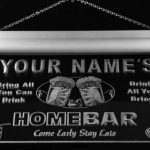 Enseigne Lumineuse p430-b Nicolas Home Bar Beer Family Last Name Neon Light Sign de la marque AdvPro Name image 2 produit