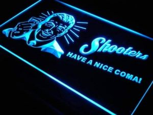 Enseigne Lumineuse s029-b Shooters Have a Nice Coma Beer Bar NR Light Sign de la marque AdvPro Sign image 0 produit