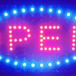 ENSEIGNE PANNEAU TABLEAU LUMINEUSE LED - OPEN. IDEAL POUR VITRINES de la marque ELECTRONIC SHOP image 1 produit