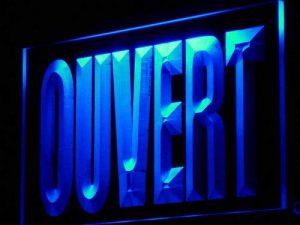 enseignes lumineuses ouvert TOP 1 image 0 produit