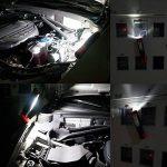ENUOTEK Lampe Baladeuse LED Rechargeable sans Fil Lampe Torche Puissante Lampe Inspection LED Aimantée- Deux Lumieres 3W COB LED et 3W LED- 2200mAh Batterie Lithium de de la marque ENUOTEK image 3 produit