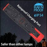 ENUOTEK Lampe Baladeuse LED Rechargeable sans Fil Lampe Torche Puissante Lampe Inspection LED Aimantée- Deux Lumieres 3W COB LED et 3W LED- 2200mAh Batterie Lithium de de la marque ENUOTEK image 4 produit