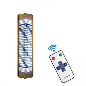 Extérieur Barbier Pôle LED, Enseigne Rotative Lumineuse De Salon, Grande Très Lumineuse, Économie D'énergie, avec Télécommande,95Cm de la marque LU KU image 0 produit