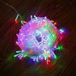 Fairy Lights, 10M 100 LEDs avec 8 types de modes clignotants, alimentés par Home Voltage. Utilisé pour l'arbre de Noël, festive, décorations de fête de mariage / anniversaire LED String Lights. de la marque G-Hawk image 1 produit