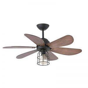 Faro 33703 - CHICAGO Ventilateur de plafond noir de la marque FARO image 0 produit
