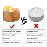 Fausse bougie avec flamme vacillante => comment choisir les meilleurs modèles TOP 5 image 4 produit