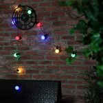 Festive Lights Guirlande Lumineuse Guinguette Décorative 20 Ampoules LED Multicolores 5 Mètres Intérieur/Extérieur Waterproof de la marque Festive Lights image 1 produit