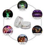 FURADO 10 RGB Multi Changement de couleur étanche LED pour vase, aquarium, bassin, Halloween, Noël, plastique de la marque Furado image 3 produit