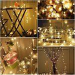 Gledto 4m LED Guirlande lumineuse à Piles Petits Boules Blanc chaud Décoration romantique pour Fête Noël Mariage Anniversaire Soirée Party Décor Chambre Maison Jardin Terrasse Pelouse de la marque Gledto image 3 produit