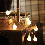 Gledto 4m LED Guirlande lumineuse à Piles Petits Boules Blanc chaud Décoration romantique pour Fête Noël Mariage Anniversaire Soirée Party Décor Chambre Maison Jardin Terrasse Pelouse de la marque Gledto image 1 produit