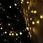 Gledto 4m LED Guirlande lumineuse à Piles Petits Boules Blanc chaud Décoration romantique pour Fête Noël Mariage Anniversaire Soirée Party Décor Chambre Maison Jardin Terrasse Pelouse de la marque Gledto image 2 produit